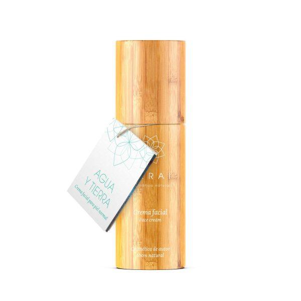 Crema facial para piel con poro abierto elaborada en Terai cosmetica natural y de venta en tienda online y tienda fisica en Bilbao