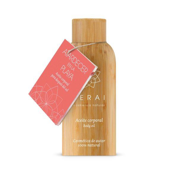 aceite corporal calmante ecologico de venta en tienda fisica terai cosmetica en Bilbao y tienda online