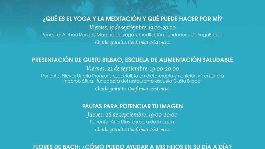Calendario de actividades Septiembre 2017
