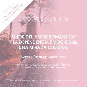 charla sobre dependencia emocional en Terai Cosmetica Natural. Productos cosmeticos naturales de venta online y tienda fisica en bilbao