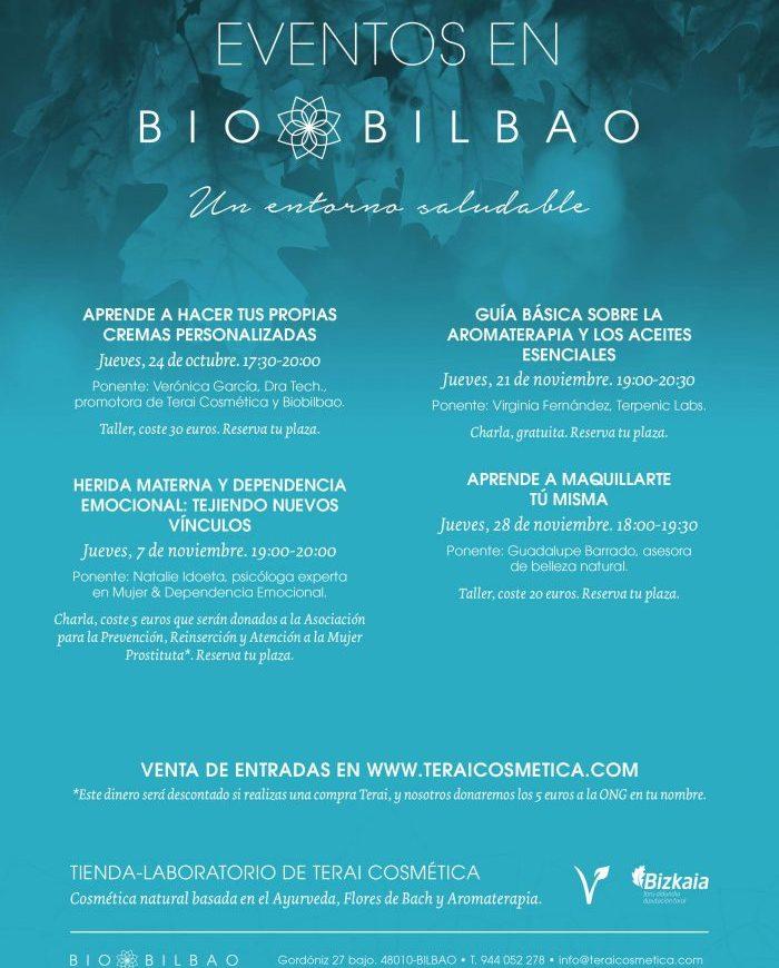 Temporada Otoño 2019: Charlas y Talleres en Terai Cosmética Natural