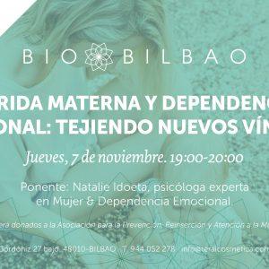 terai cosmetica natural realiza talleres y charlas sobre dependencia emocional en Bilbao